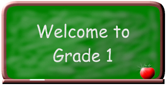 General Welcome sign for 1st grade